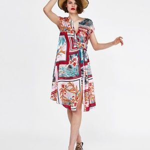 Large zara dress